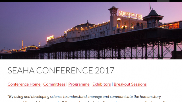 Early Career Researcher bursaries for the 3rd International SEAHA Conference